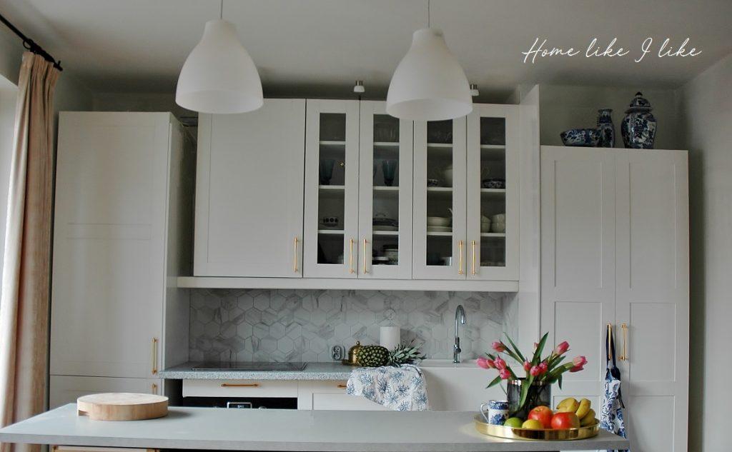biała kuchnia ikea - homelikeilike.com
