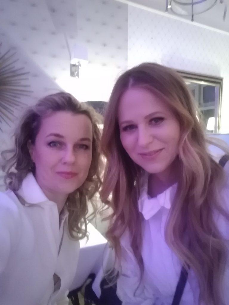 Joanna Pilkowska i Luiza Krolczuk w Sweet Living